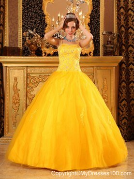 Bright Yellow Quinceanera Dresses,Black and Yellow,Blue & Pink ...