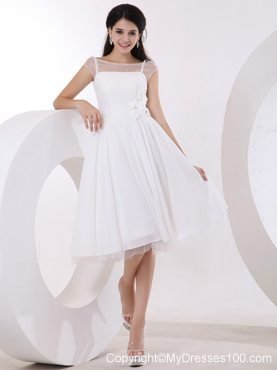 ready made a line one shoulder kneelength prom dress