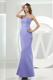 Mermaid Sweetheart Lilac Satin Ankle-length 2013 Bridemaid Dress