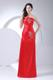 Beading Decorate Bodice 2013 Red Foraml Evening Dresses