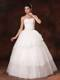 Sweetheart New Style Layers Ball Gown Wedding Dress with Appliques