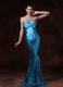 Paillette Over Skirt Bowknot 2013 Pageant Dresses with Beading Custom Made