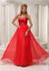 Sequined Sweetheart Red and Floor-length Party Dresses For 2013