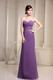 Full Length Ruching Sweetheart Prom Gown Made From Chiffon