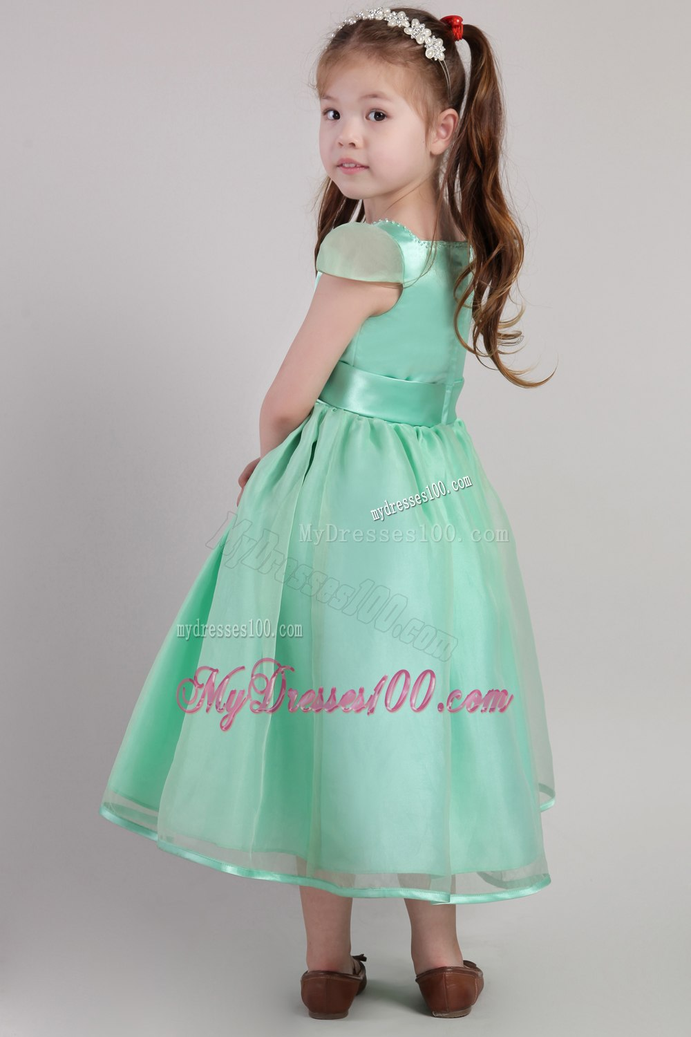 Fall Color Dresses For Little Girls Belt Little Girl Dress