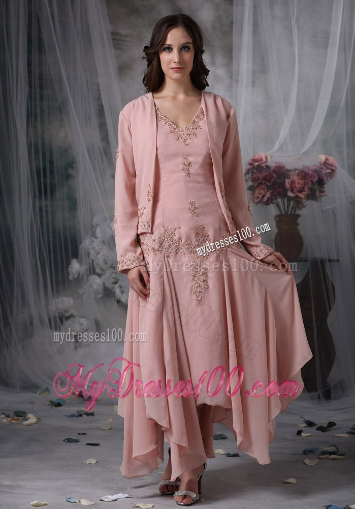 Mother Of The Bride Dresses For Fall Wedding Mother Bride Dress in Pink