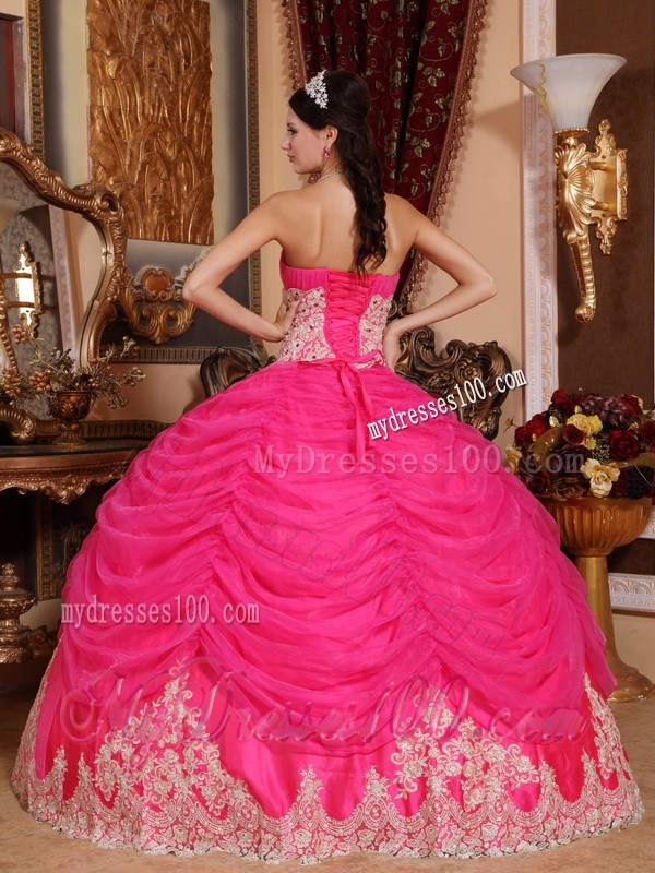 Quince dresses pink and white